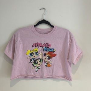 Powerpuff Girls Cropped Tee